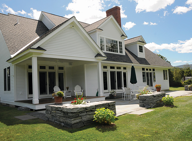 Vermont Country Homes House Plans